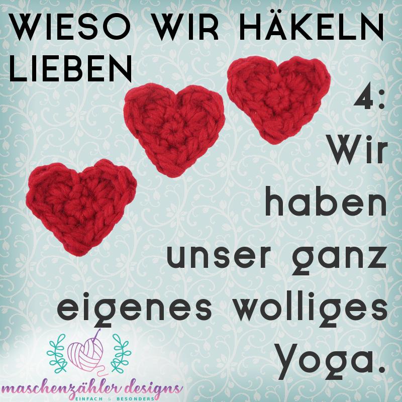 4: Wir haben unser ganz eigenes wolliges Yoga.