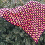 Häkelanleitung Phlegethon - ein Dreieckstuch